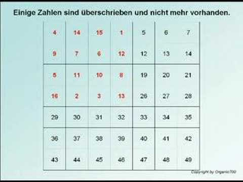 Welches Lotto System - 955733